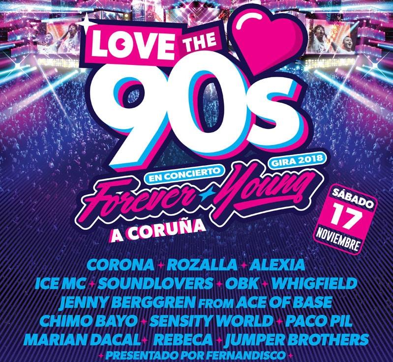 Love the 90s A Coruña