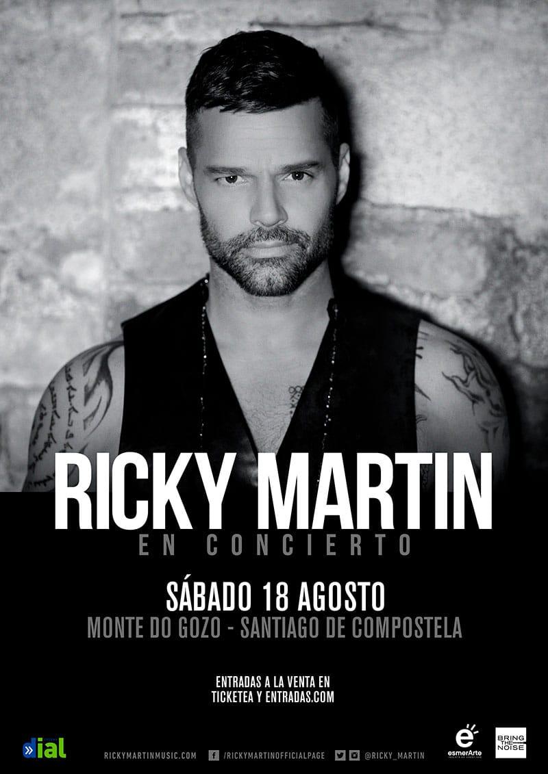 Ricky Martin concierto Santiago de Compostela