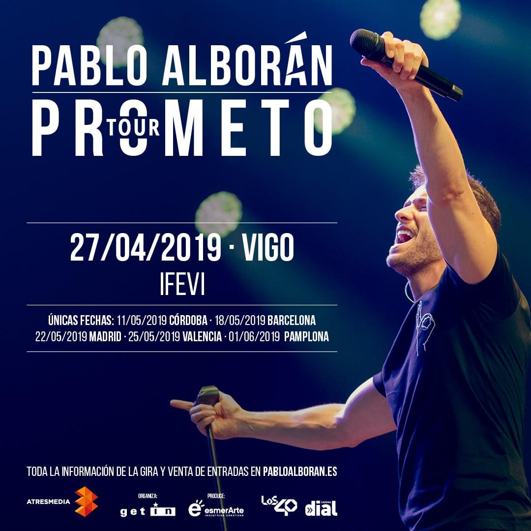 Pablo Alborán IFEVI Vigo