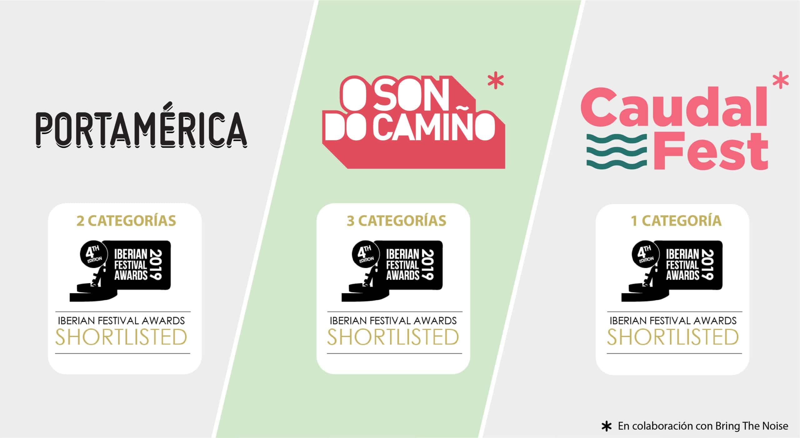 Finalistas Iberian festival awards