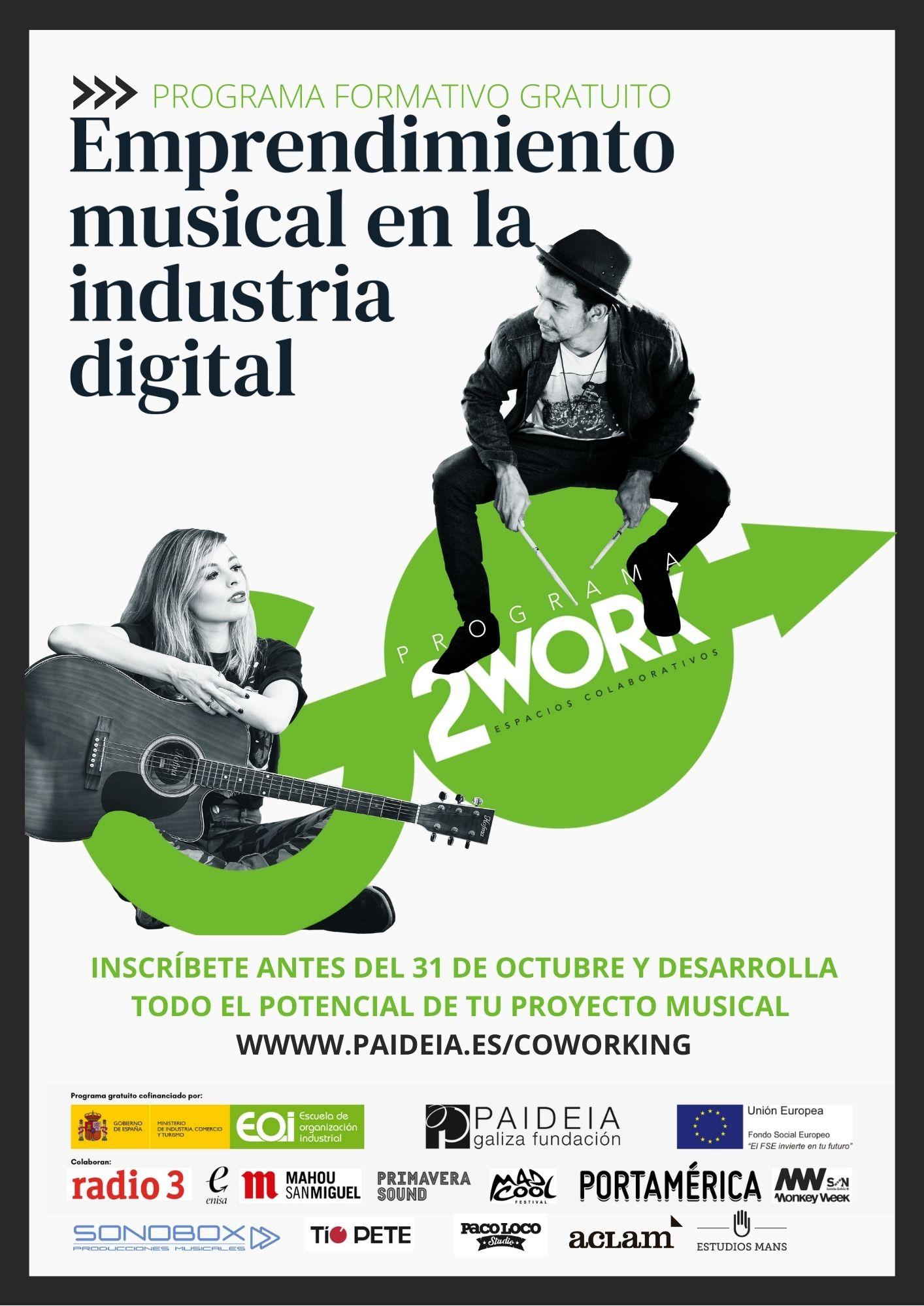 Fundación Paideia. Emprendimiento Musical en la Industria Digital